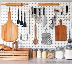 kitchen pegboard solutions hometalk