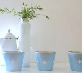how to upcycle cheap flower pots, container gardening, crafts, gardening, Photo via Carolyn Homework
