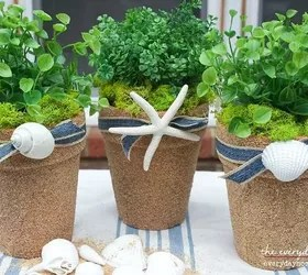 how to upcycle cheap flower pots, container gardening, crafts, gardening, Photo via Barb The Everyday Home
