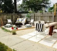 DIY Budget Backyard and Deck Makeover