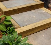 DIY Outdoor Staircase | Hometalk