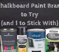 Hometalk Review: What Is The Best Chalkboard Paint? | Hometalk