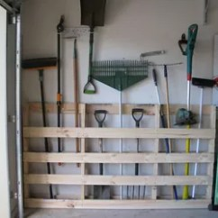 Home Depot Lawn Chairs Chair Vs Stool Garage Storage For Garden Tools From Old Pallet | Hometalk