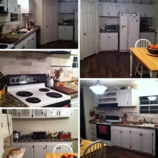 Mobile Home Kitchen Makeover Cabinets Design