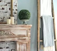 Repurposed Fence Wood to Ladder Wall Decor | Hometalk