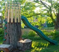 11 Pictures of Crazy Cool Uses for Tree Stumps | Hometalk