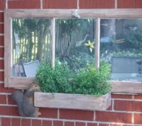 Repurposed Basement Window to Garden Wall Decor | Hometalk