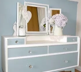 dressing table makeover- repurposing and upcycling | hometalk