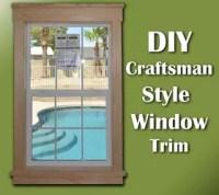 Decorating  Craftsman Style Window Casing - Inspiring ...