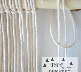 Diy Easy Wall Hanging Macrame Crafts Wall Decor