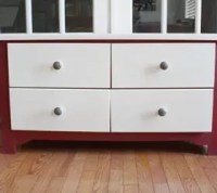 How can I paint over particle board cabinets? | Hometalk