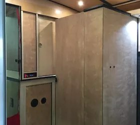 kitchen cabinet factory outlet youngstown cabinets cargo trailer camper conversion | hometalk