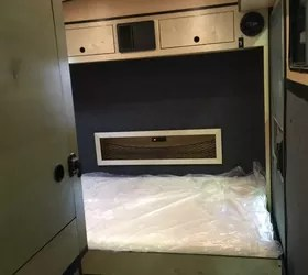 aluminum directors chair hans wegner wishbone chairs cargo trailer camper conversion   hometalk