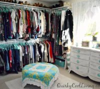 Before and After: Spare Room Turned Closet on a Budget