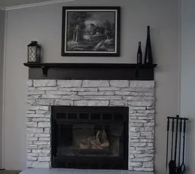 My Painted Fireplace