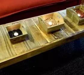 the skinny long of this coffee table