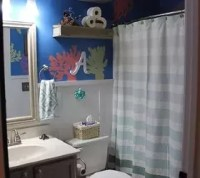 DIY Under the Sea-Themed Kid's Bathroom   Hometalk