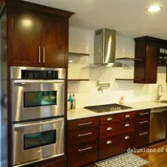 Floating Kitchen Cabinets Install Backsplash Crown Molding And Shelves Hometalk Onward Soldiers Moulding Design Shelving