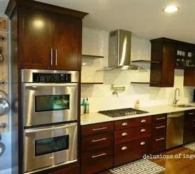Kitchen Crown Molding And Floating Shelves Hometalk