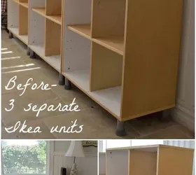 Before After Transforming An Old Ikea Bookcase Hometalk
