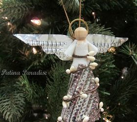 How To Make Angel Ornaments For Christmas