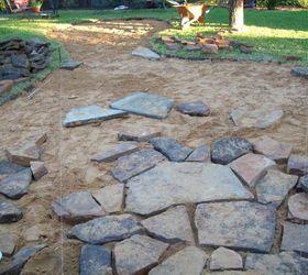 installing a flagstone patio hometalk