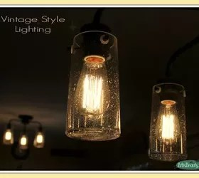 Vintage Style Kitchen Lighting Update Buh Bye Boob Light # Light
