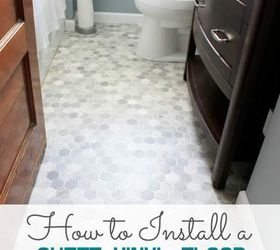 How to Install a Sheet Vinyl Floor | Hometalk