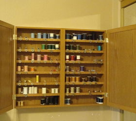 kitchen cabinet doors home depot restaining cabinets sewing thread organizer and storage | hometalk
