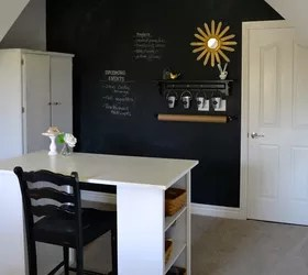 Howto Make a Chalkboard Wall in Your Home OfficeCraft