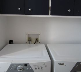 Hiding the Washer and Dryer plumbing  Hometalk