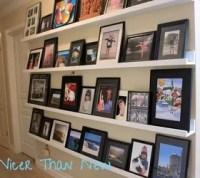 DIY Picture Gallery Shelves | Hometalk