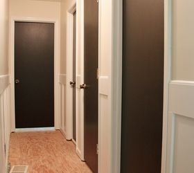 Painting Interior Doors Dark Brownblack  Hometalk