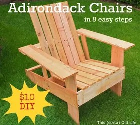 how to build an adirondack chair office base kit easy economical diy chairs 10 8 steps 2 hours hometalk full at http www thissortaoldlife com 2012 07