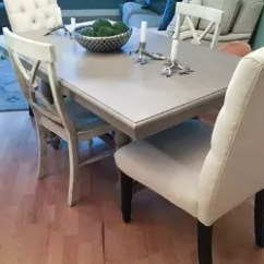 Painted Tables And Chairs Chair Raisers For Dining Room Update Painting Table Hometalk Ideas Furniture Reupholster