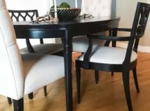 Dining Room Update - Painting Dining Table & Chairs   Hometalk