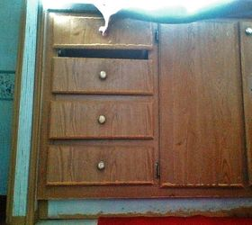 Paint mobile home cabinets  Hometalk