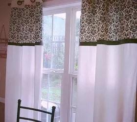 valances for kitchen pfister faucet parts diy no sew curtains | hometalk