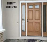 Winter Monogram Decor for Outside the Front Door   Hometalk