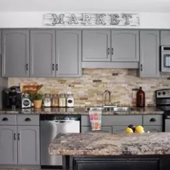 Diy Refinish Kitchen Cabinets Best Sink Faucets Our Cabinet Makeover | Hometalk