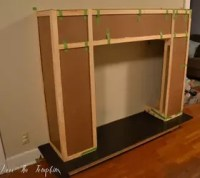 How To Build A Faux Fireplace | Hometalk