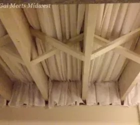 to cover my unfinished basement ceiling