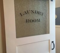 The Finishing Touch-A Sliding Barn Door for the Laundry ...