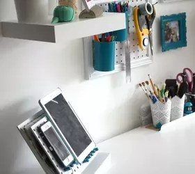 kitchen utensil organizer slim cabinet 15 ways to organize every messy nook with pegboard | hometalk