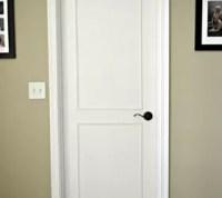 Hollow Core Bore to a Beautiful Updated Door: DIY Slab