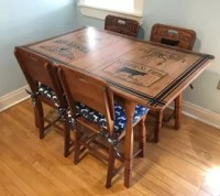 Refinished Kitchen Table & Chairs With Beautiful ...