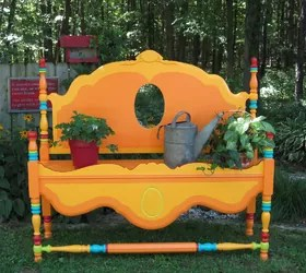 Whimsical Ways Furniture In Flower Bed