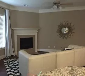 living room layout without coffee table furniture sets argos updated corner fireplace and is driving ...