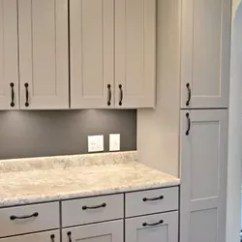 Facelift For Kitchen Cabinets Farmhouse Chairs Remodel With Gray | Hometalk