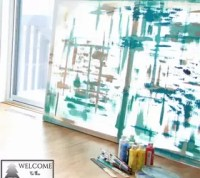 Make LARGE Canvas Wall Art for $14 | Hometalk